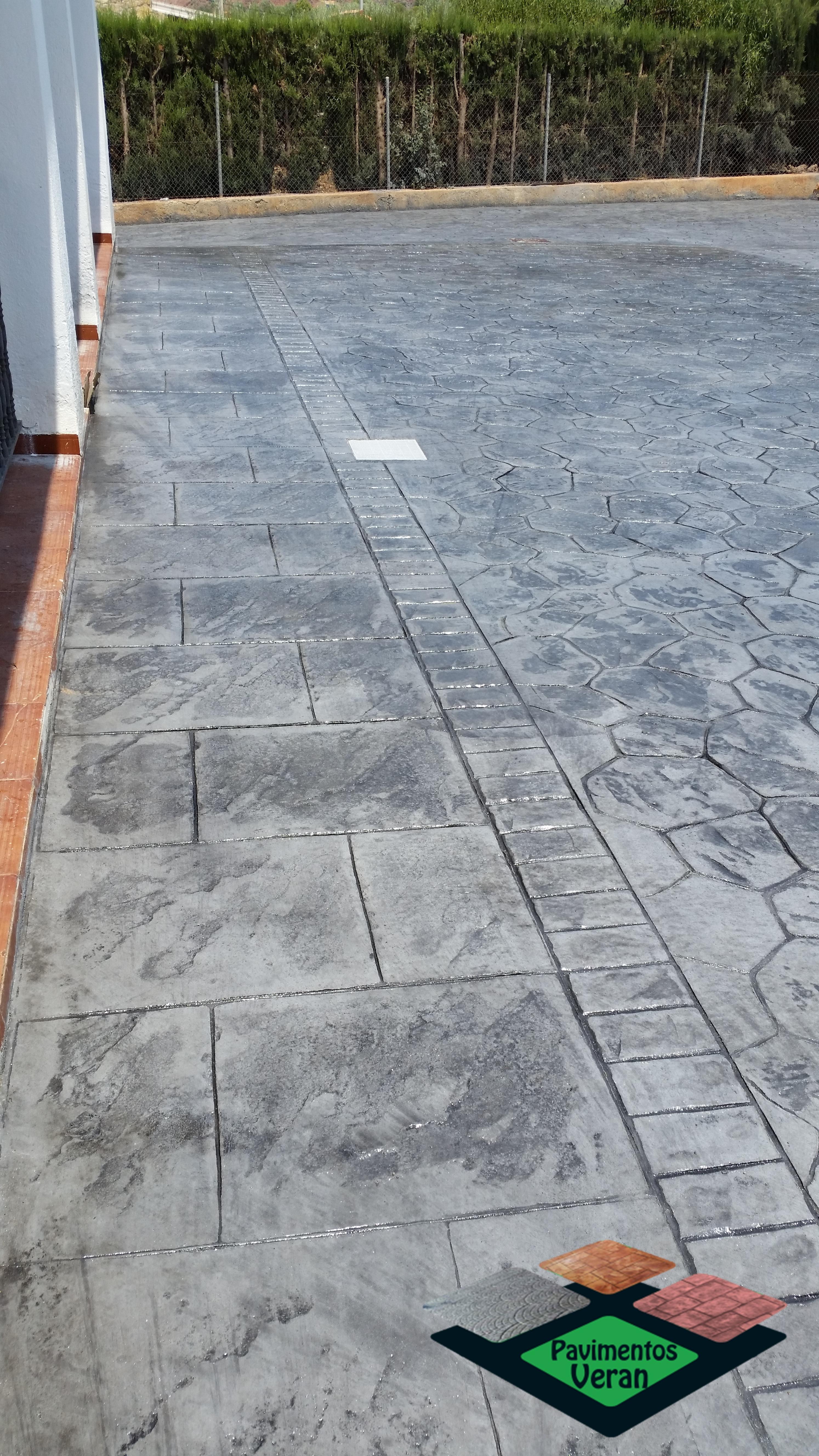 Hormigon impreso villena hormigon impreso aspe cemento for Hormigon impreso villena