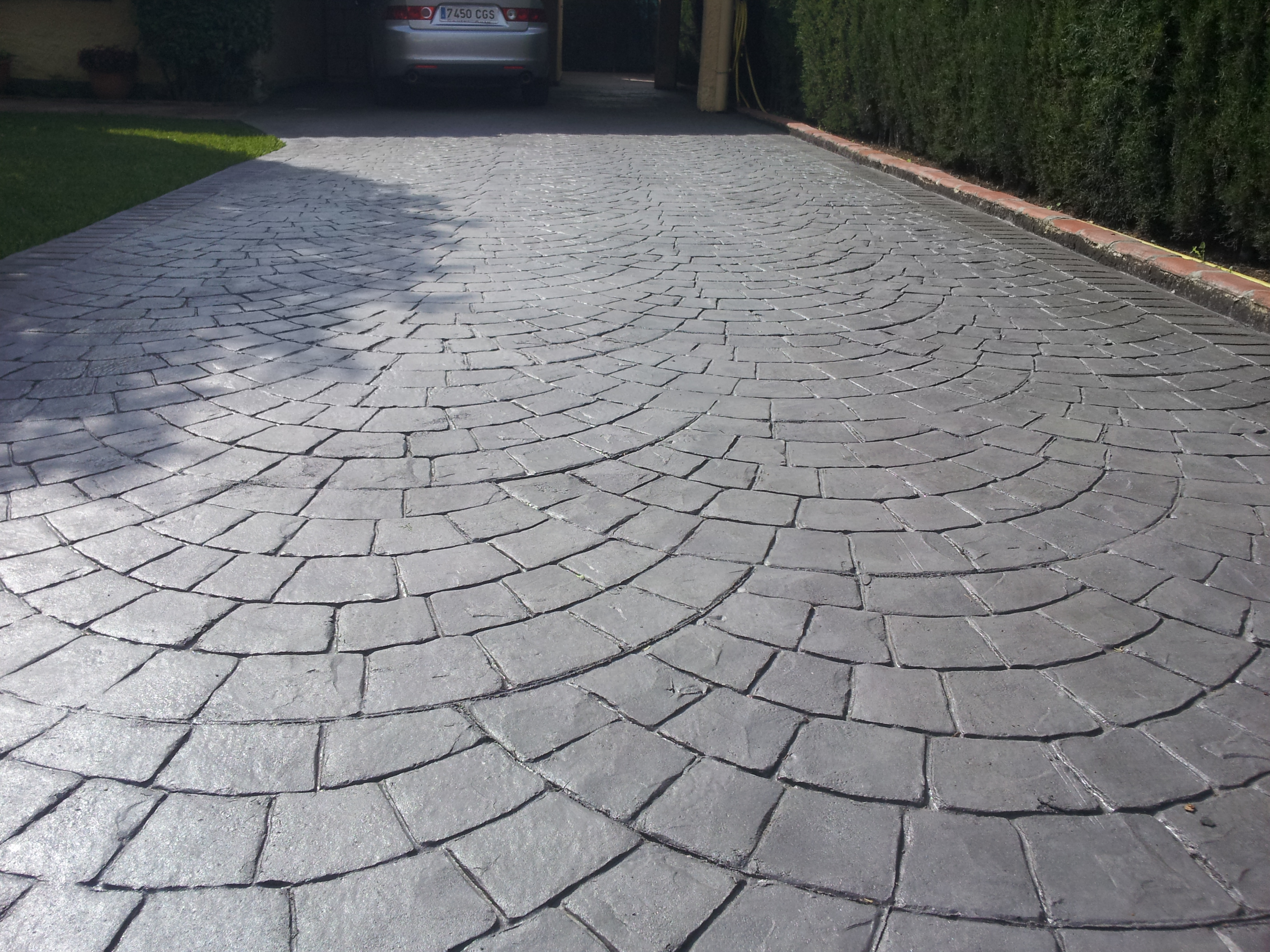Hormigon impreso aspe hormigon impreso aspe cemento impreso aspe - Hormigon pulido exterior ...